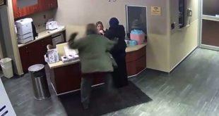 اعتداء وحشي على محجبة في ولاية ميشيغان الأمريكية.. بالفيديو